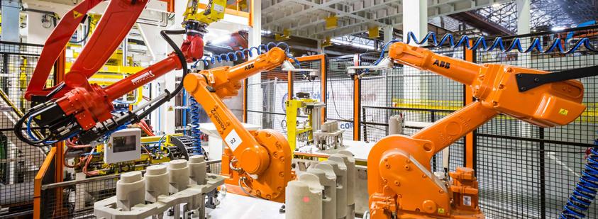 Integración y programación de robots ABB en Italia