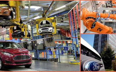 Integración y Programación de robots KUKA para Ford en Alemania