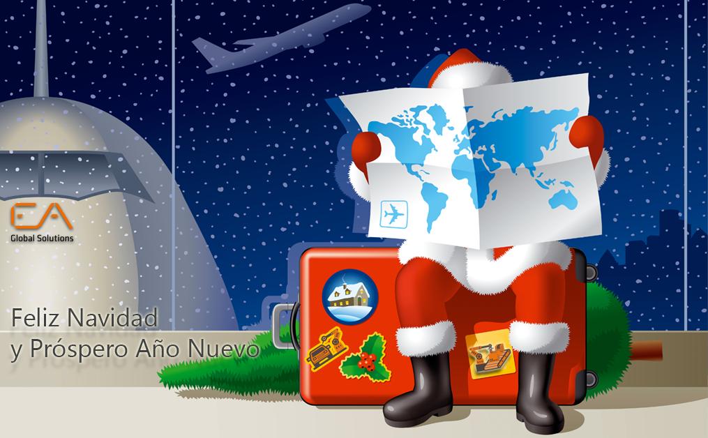 Felices Fiestas de Navidad y Próspero Año Nuevo 2018