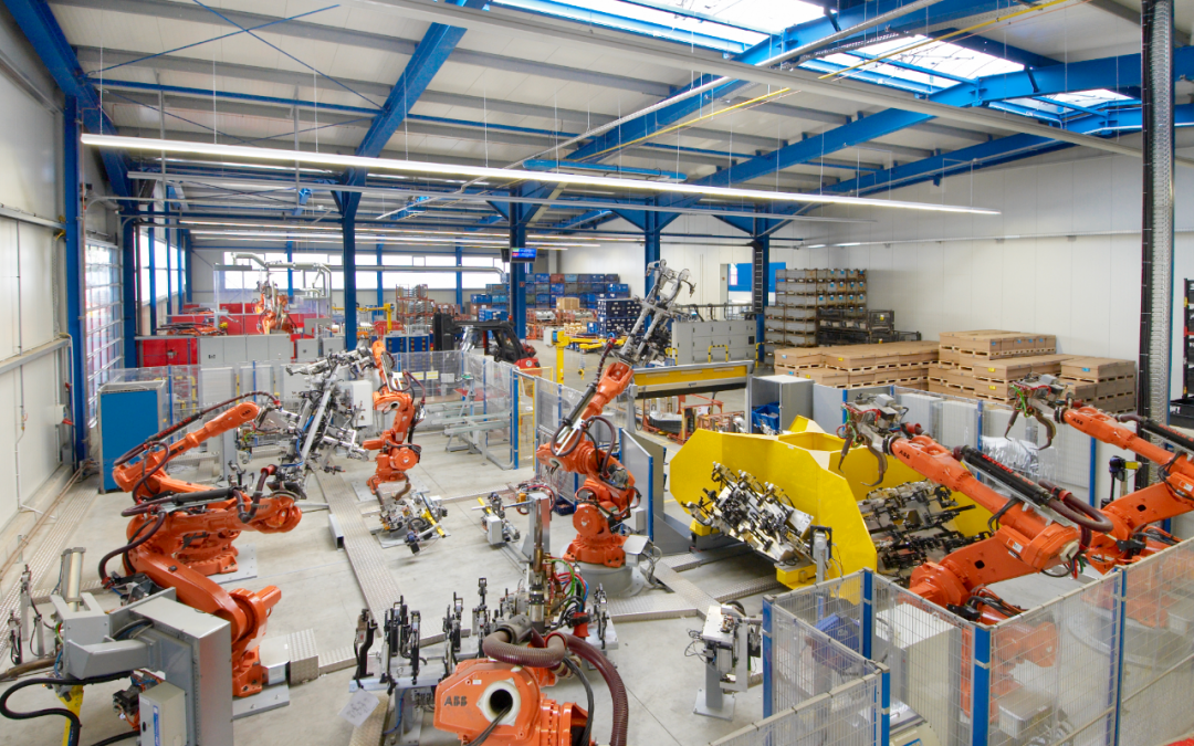 Programming Of Abb Robots For Gestamp In Germany Ea Global Solutions