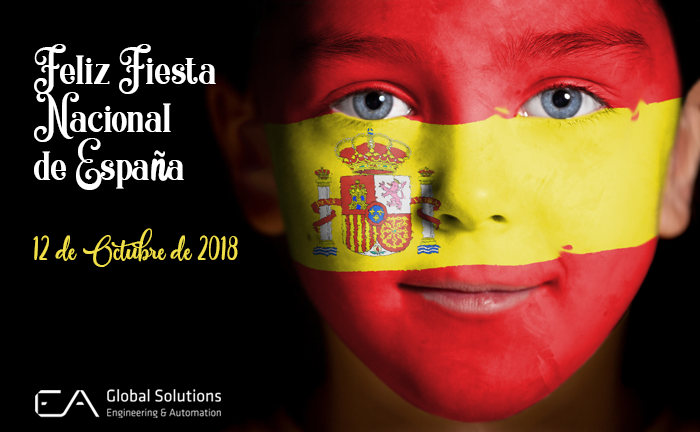 Happy National Holiday of Spain!